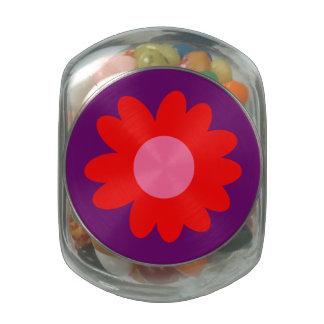 Margarita maravillosa adaptable frascos de cristal