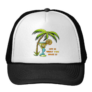Margarita Mermaid Trucker Hat
