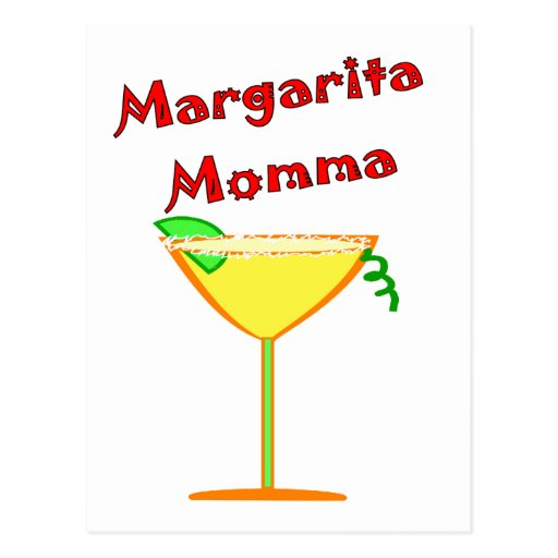 Margarita MOMMA T-Shirts & Gifts Postcard