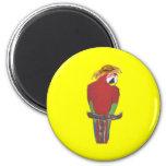 Margarita Parrot Fridge Magnet