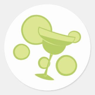 Margarita Party Classic Round Sticker