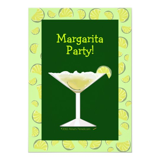 Margarita Party Cocktail Party Invitation Template
