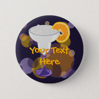 Margarita Pinback Button