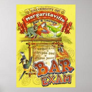 Margarita Poster=Pass The Bar Exam