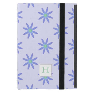 Margarita púrpura del monograma: Caso del iPad del iPad Mini Protectores