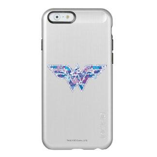 Margarita púrpura WW Funda Para iPhone 6 Plus Incipio Feather Shine
