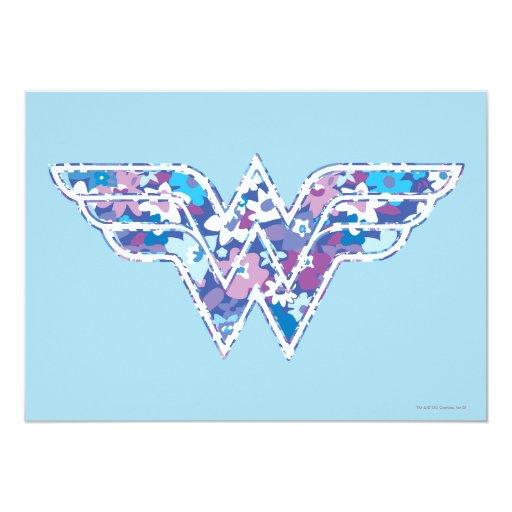 """Margarita púrpura WW Invitación 5"""" X 7"""""""
