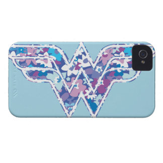 Margarita púrpura WW iPhone 4 Case-Mate Protector