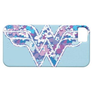 Margarita púrpura WW iPhone 5 Carcasas