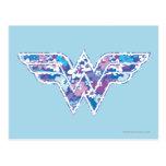 Margarita púrpura WW Postales