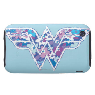 Margarita púrpura WW Tough iPhone 3 Carcasa