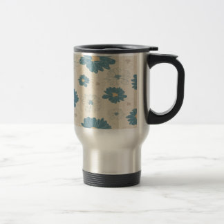 Margarita romántica retra linda taza térmica