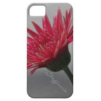 Margarita rosada brillante del Gerbera floración iPhone 5 Case-Mate Carcasa