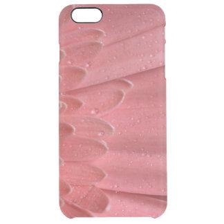 Margarita rosada coralina bonita del Gerbera Funda Clearly™ Deflector Para iPhone 6 Plus De Unc
