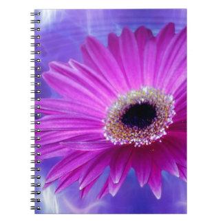 Margarita rosada de Gerber Libros De Apuntes Con Espiral