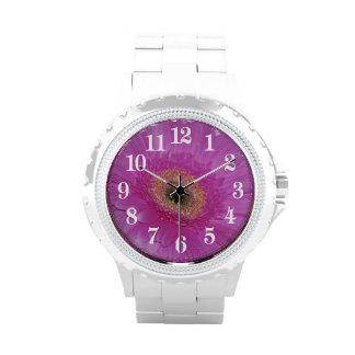 Margarita rosada de Gerber Relojes
