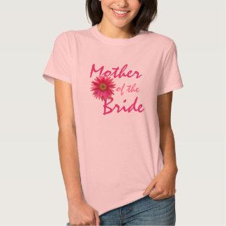 Margarita rosada del Gerbera de la madre T Shirt