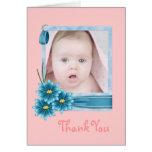 margarita rosada Photogift personalizado niña Felicitacion