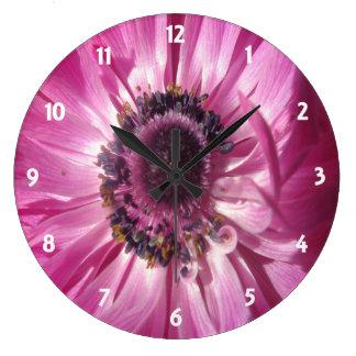 Margarita rosada relojes