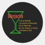 Margarita Round Sticker