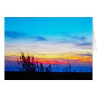 Margarita Sunset Greeting Cards