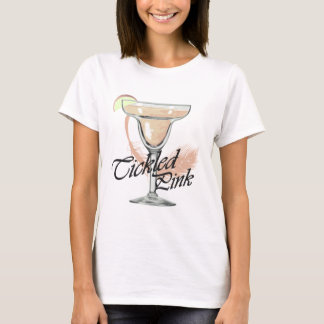 Margarita Tickled Pink Party T-shirt