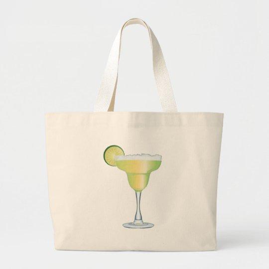 Margarita Time Large Tote Bag