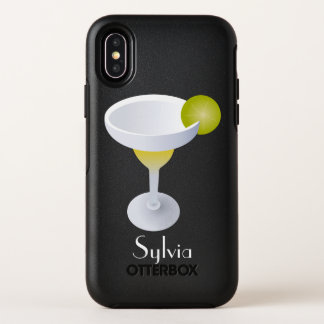 Margarita With Lime Personalized OtterBox Symmetry iPhone X Case