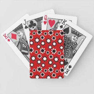 Margaritas adaptables barajas de cartas