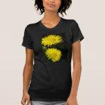 Margaritas amarillas camiseta