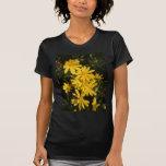 Margaritas amarillas camisetas