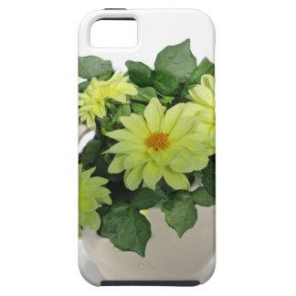 Margaritas amarillas en una jarra funda para iPhone SE/5/5s