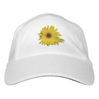 Margaritas amarillas gorra de alto rendimiento