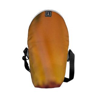 Margaritas anaranjadas bolsa messenger