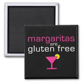 Margaritas are Gluten Free 2 Inch Square Magnet
