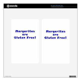 Margaritas are Gluten Free Kindle Fire Decals