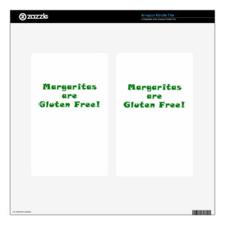 Margaritas are Gluten Free Kindle Fire Skin