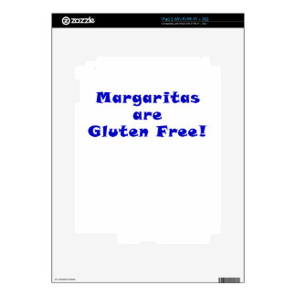 Margaritas are Gluten Free Skins For iPad 2