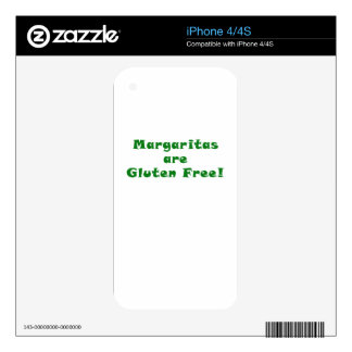 Margaritas are Gluten Free Skins For iPhone 4S