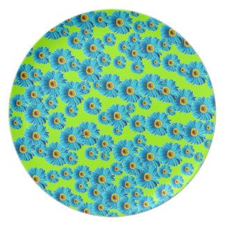 Margaritas azules adaptables platos para fiestas