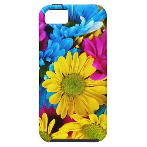 Margaritas brillantemente coloreadas iPhone 5 carcasa