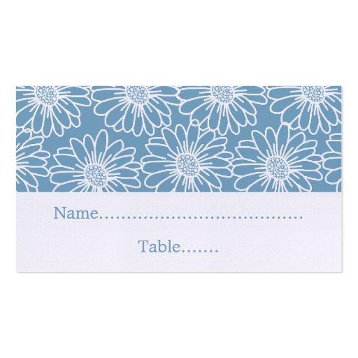 Margaritas caprichosas que casan la tarjeta del tarjetas de visita