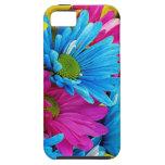 Margaritas coloridas iPhone 5 Case-Mate protectores