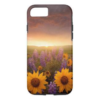 Margaritas de la puesta del sol funda iPhone 7