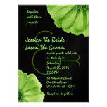Margaritas de la verde lima y del negro que casan