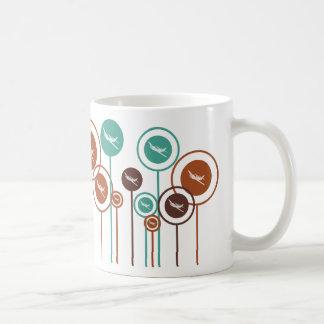 Margaritas del control de radio tazas de café