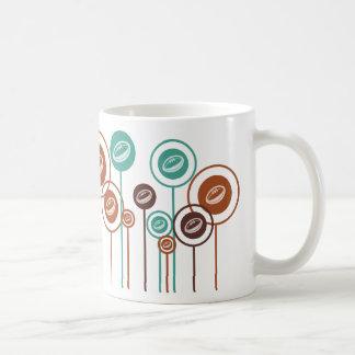 Margaritas del rugbi taza de café