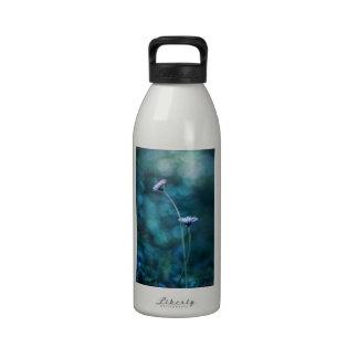 Margaritas en amor botella de agua