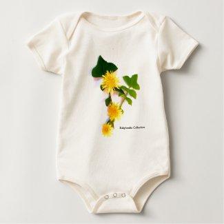 Margaritas Flowers collection By Babylandia Body De Bebé