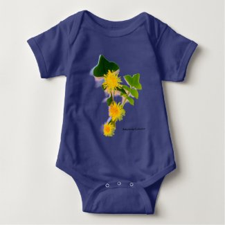 Margaritas Flowers collection By Babylandia Mameluco De Bebé